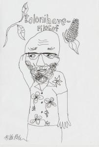 Bo i hippieskjorte